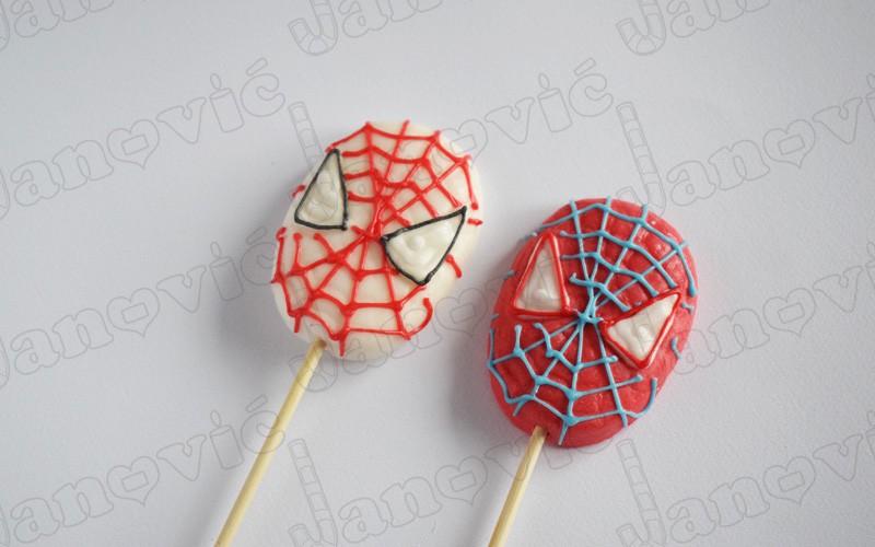 spajdermen, spiderman, lizalica,lollipop, candy, bombon, sombor, janovic
